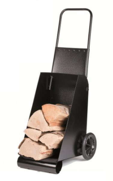 Chariot bois de chauffage - Chariot pour bois de cheminee ...
