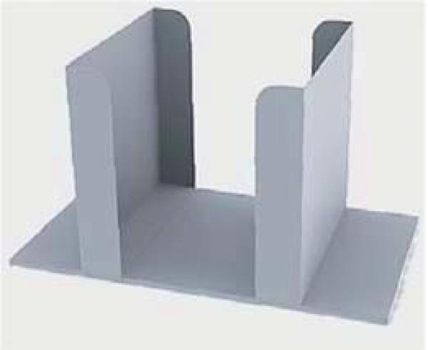 Range b ches logama blanc xl pour entreposer votre bois de chauffage allobo - Range buche interieur design ...