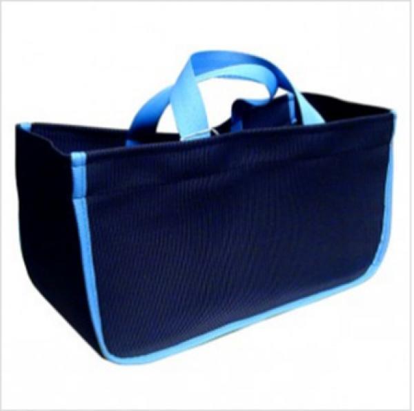 Sac b che tuffduck bleu pour transporter vos buches - Sac a buches design ...